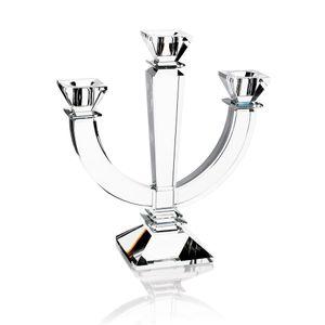 Candelabro-optico-de-cristal-Hauskraft-3-velas
