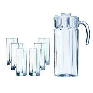 Jogo-6-copos-de-jarra-Luminarc-Octime