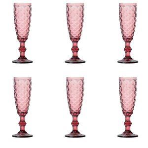 Jogo-6-tacas-para-champagne-em-vidro-Lyor-Abacaxi-140ml