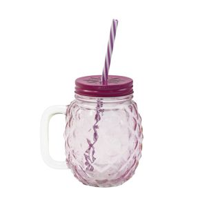 Caneca-com-canudo-Wincy-Abacaxi-450ml-rosa