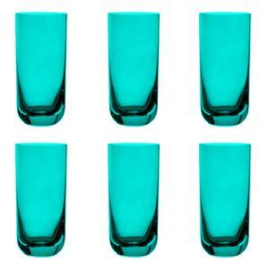 Jogo-6-copos-Krosno-Casual-360ml-turquesa