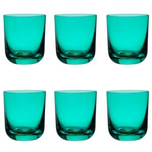 Jogo-6-copos-Krosno-Casual-300ml-turquesa