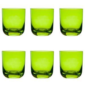 Jogo-6-copos-Krosno-Casual-300ml-verde