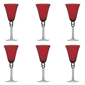 Jogo-6-tacas-para-vinho-Montarte-vermelho
