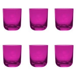 Jogo-6-copos-Krosno-Casual-300ml-pink