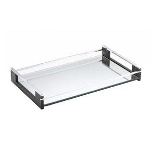 Bandeja-retangular-com-espelho-BRZ-Oslo-20x38cm-preta