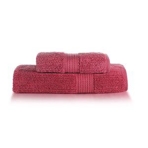 Jogo-de-toalha-2-pecas-Buddemeyer-Fio-Penteado-vermelho