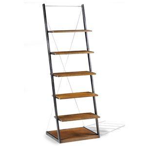 Estante-estilo-escada-Industry-Duke-184x61cm-brown-grafite