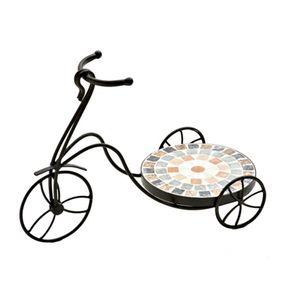 Floreira-de-ferro-estilo-mosaico-redonda-Btc-Bicicleta-44x21x31cm