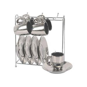 Jogo-de-xicaras-de-cafe-Vice-Versa-90ml-prata-e-preto