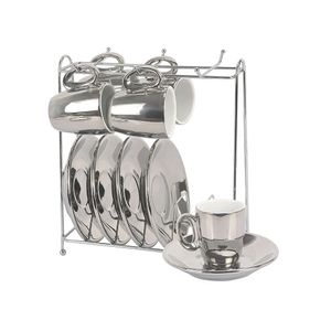 Jogo-de-xicaras-de-cafe-Vice-Versa-90ml-prata-e-branca