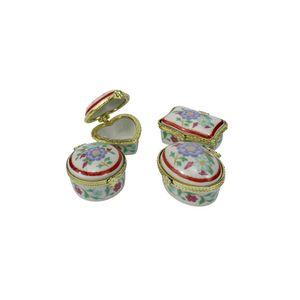 Porta-joias-em-porcelana-Multiart-4-pecas-vermelho