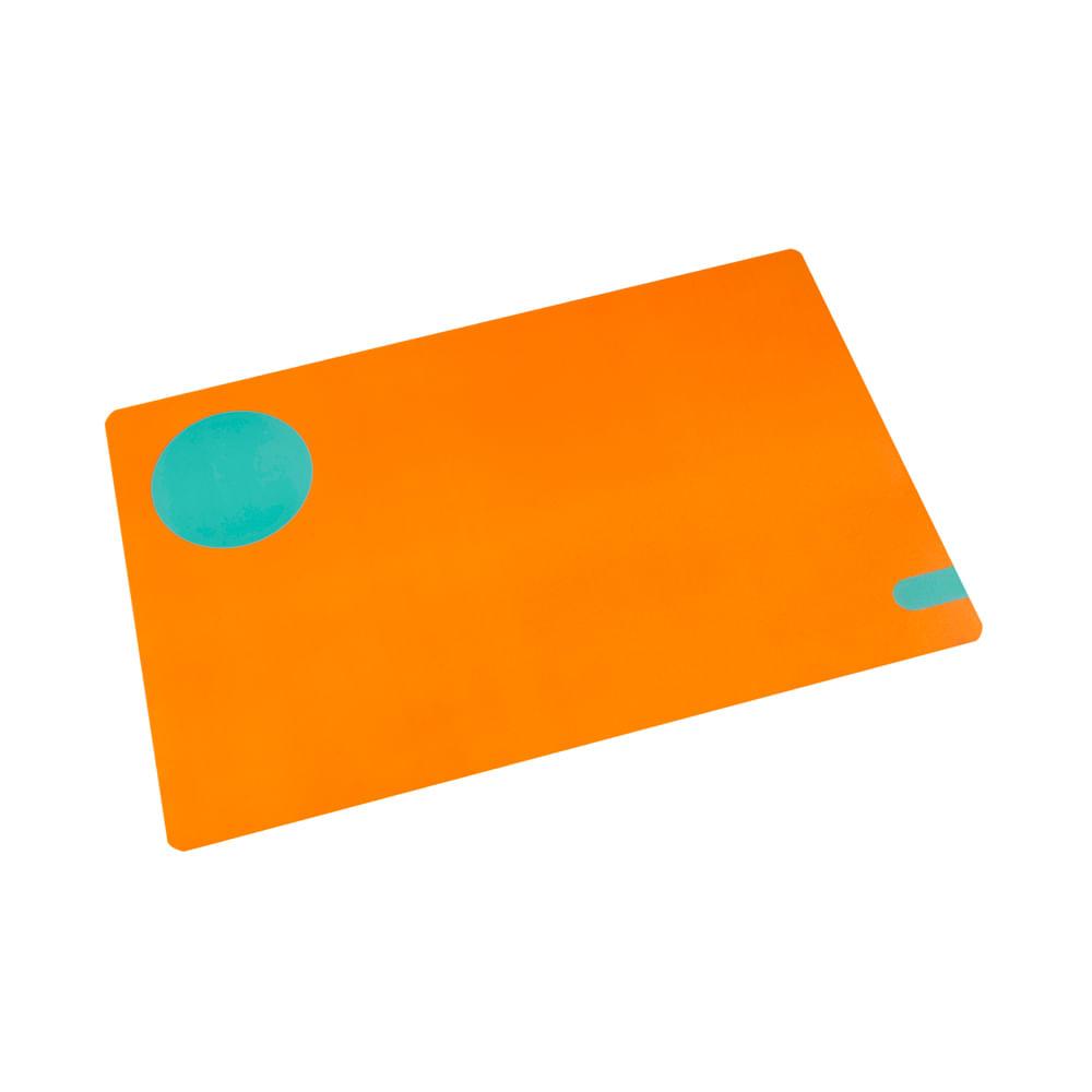 Lugar americano pp Coza Duo 44x28,5cm laranja