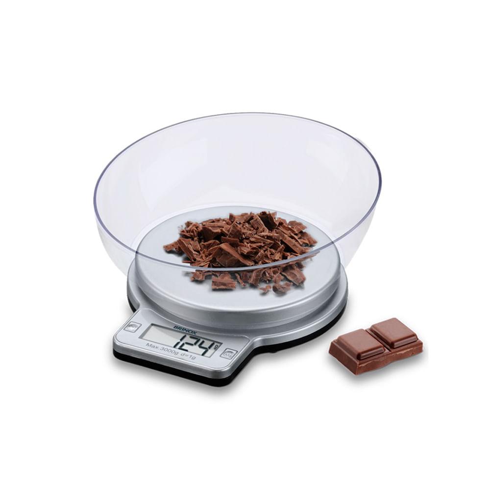 Balança digital para cozinha Brinox 3kg