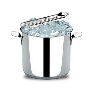 Balde-para-gelo-com-pinca-Brinox-25-litros