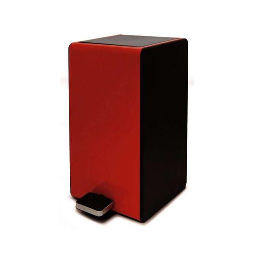 Lixeira-7-litros-com-pedal-Week-38cm-vermelha