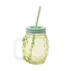 Caneca-com-canudo-Wincy-Abacaxi-450ml-verde