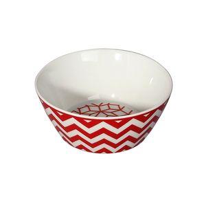Bowl-L-Hermitage-Geomix---Match-13cm-vermelho