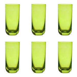 Jogo-6-copos-Krosno-Casual-360ml-verde