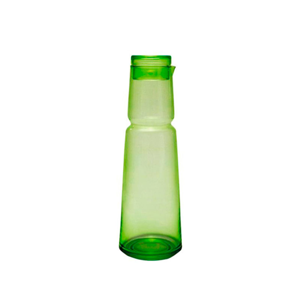 Jarra em vidro Jodja 1,2 litros verde