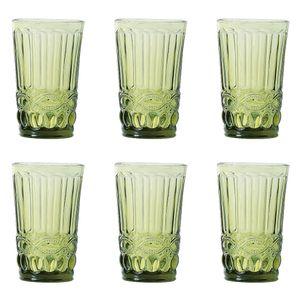 Jogo-de-copos-baixo-6-pecas-Class-Home-250ml-verde