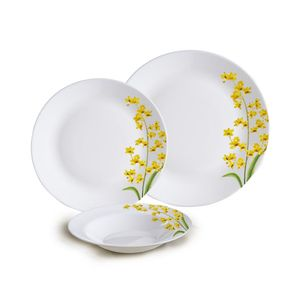 Jogo-de-jantar-Diva-Yellow-Grace-18-pecas