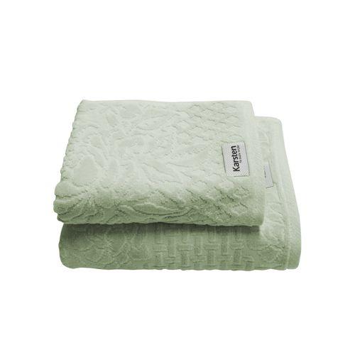 Jogo-de-toalha-Karsten-Polly-66x140cm-verde-glacial