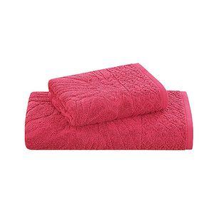 Jogo-de-toalha-Buddemeyer-Sweet-Laila-2-pecas-70x135cm-vermelha