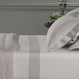 Jogo-de-cama-Trussardi-Rafinato-branco-platino