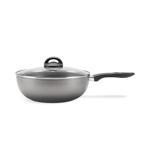 Panela-Wok-com-tampa-Brinox-Chilli-41-litros-prata