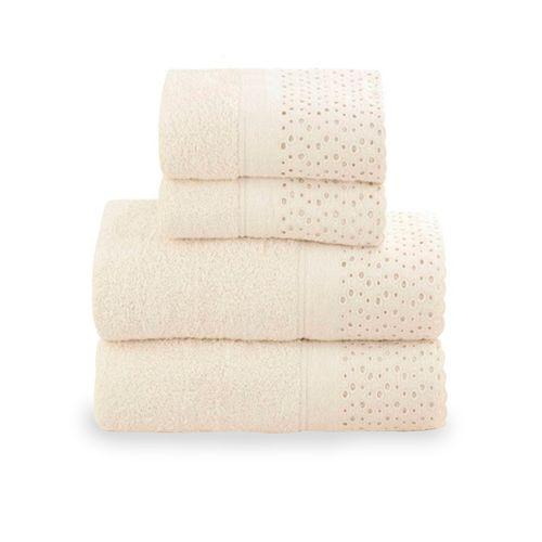 Jogo-de-toalhas-lavabo-Buddemeyer-Princess-2-pecas-marfim
