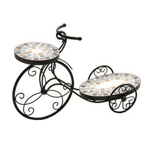 Floreira-de-ferro-estilo-mosaico-dupla-Btc-Bicicleta-58x19x39cm