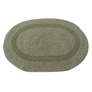 Tapete-oval-Domani-Solid-Plain-45x65cm-verde
