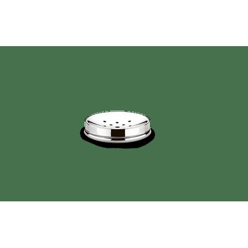Saboneteira-Inox---Decorline-Banheiro-Ø-11-x-25-cm