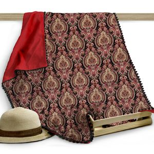 Canga-toalha-Beachwear-Anitta-140x100cm-vermelho-e-preta