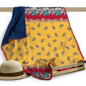 Canga-toalha-Beachwear-Brigite-140x100cm-azul-marinho-e-vermelha