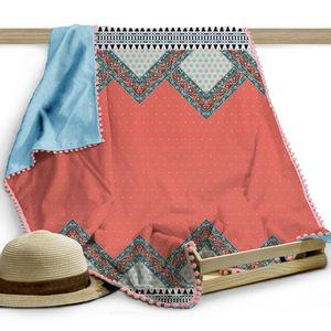 Canga-toalha-Beachwear-Ana-Maria-140x100cm-azul-e-coral