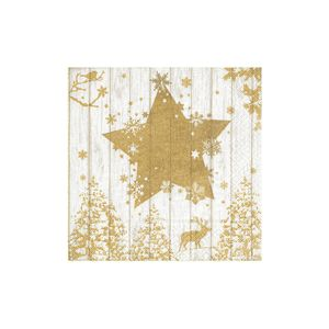 Guardanapos-Hudson-Winter-Printer-Gold-20-unidades