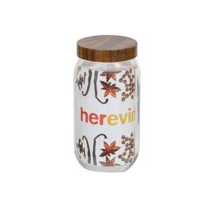 Pote-de-vidro-Lyor-Wood-com-tampa-marron-1-litro