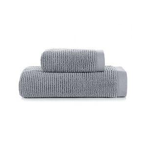 Jogo-de-banho-Buddemeyer-Dual-Rib-2-pecas-70x140cm-cinza