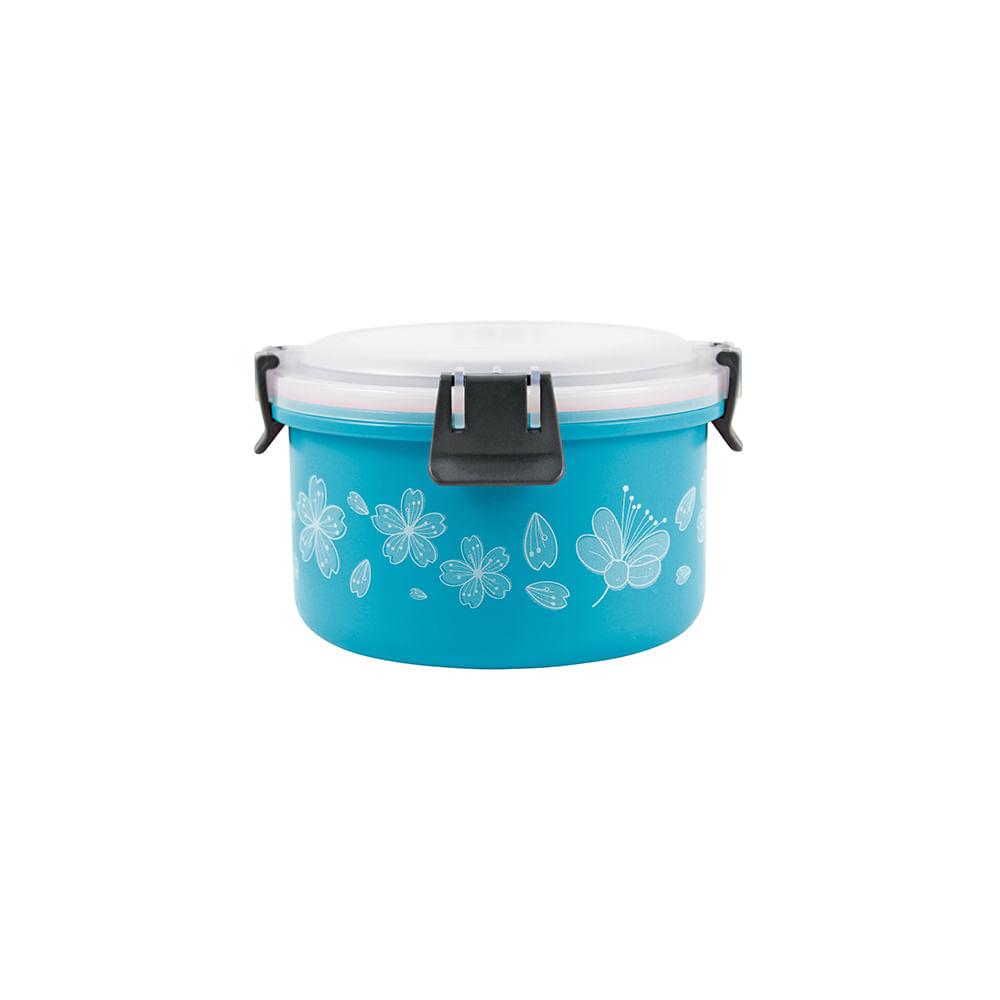 Pote para marmita de inox Jacki Design 1100ml azul