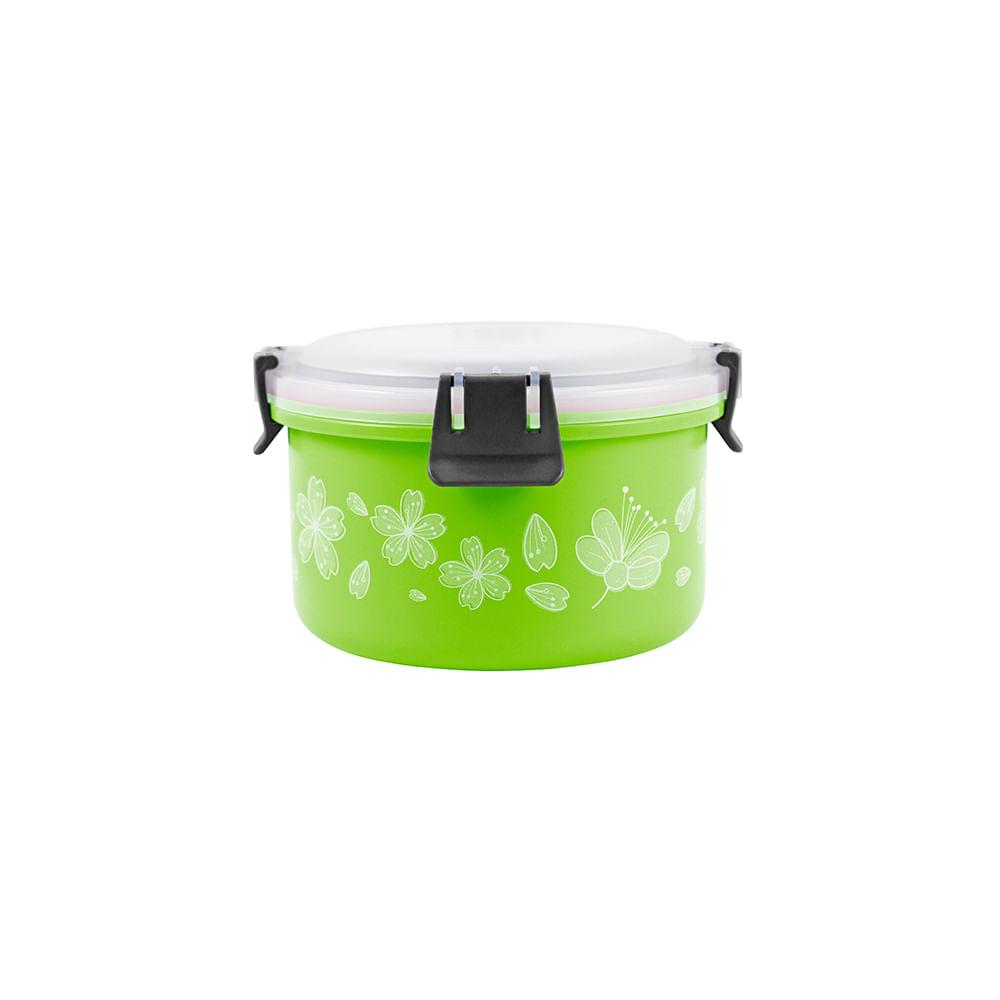 Pote para marmita de inox Jacki Design 1100ml verde