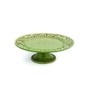 Boleira-e-doceira-de-ceramica-Carbo-Import-12x40cm-verde