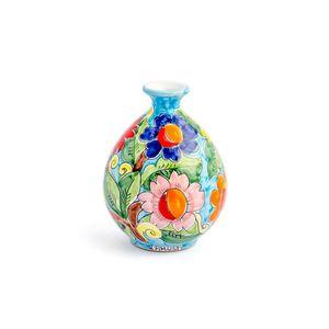 Vaso-bola-de-ceramica-pequeno-Carbo-Import-17x20cm-turquesa