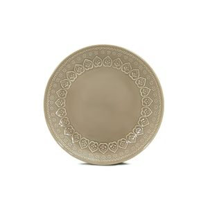 Prato-raso-de-ceramica-Yoi-Corona-Relieve-26cm-cinza