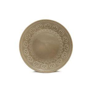 Prato-de-sobremesa-Yoi-Corona-Relieve-202cm-cinza