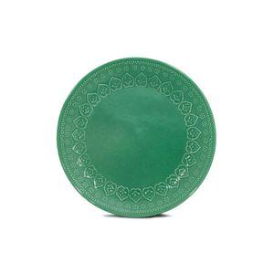 Prato-raso-de-ceramica-Yoi-Corona-Relieve-26cm-green
