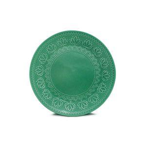 Prato-de-sobremesa-de-ceramica-Yoi-Corona-Relieve-202cm-green