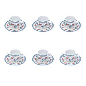 Jogo-de-xicaras-para-cafe-em-porcelana-Bon-Gourmet-Dort-6-pecas-90ml