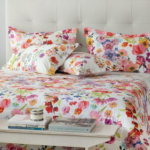 Colcha-com-porta-travesseiro-Buddemeyer-Flores